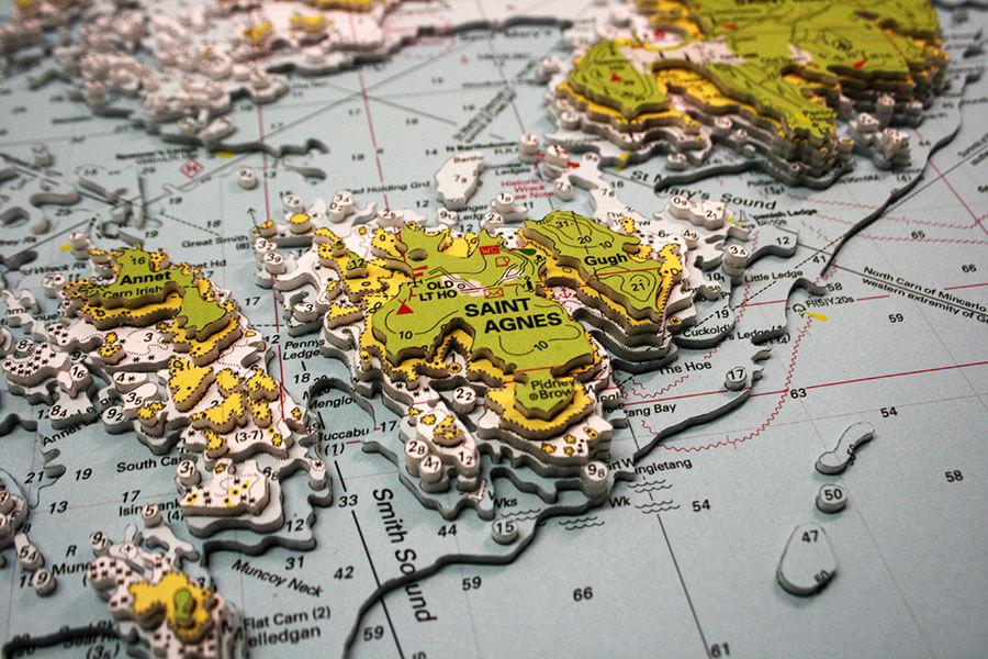 landfall cartes 3d