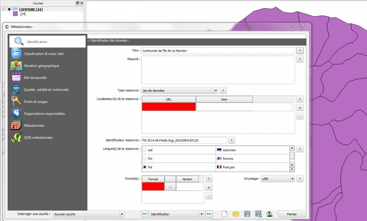 Aperçu de l'interface de QSphere