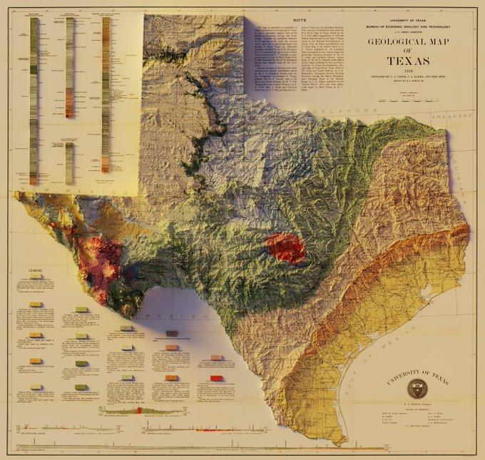Carte géologique revisitée