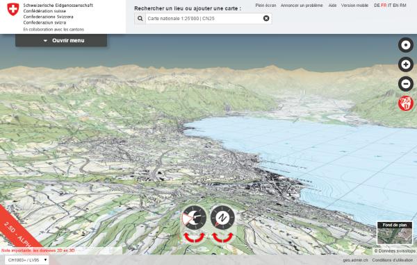 La Suisse en 3D