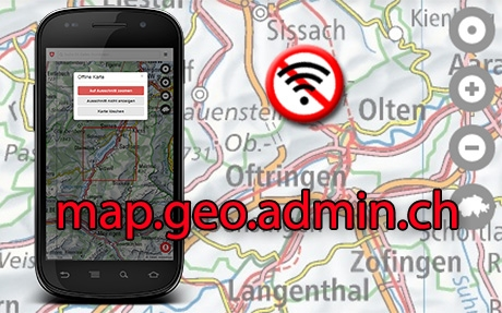 map.geo.admin.ch offline
