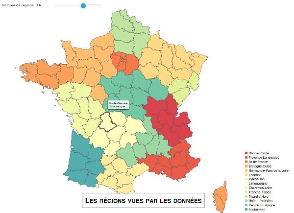 14 régions FR