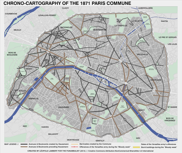 carto de la commune de paris (1871) L.Lambert