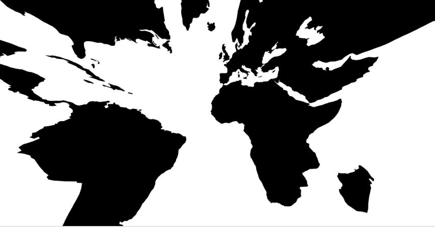 Projection interactive gnomonique avec D3