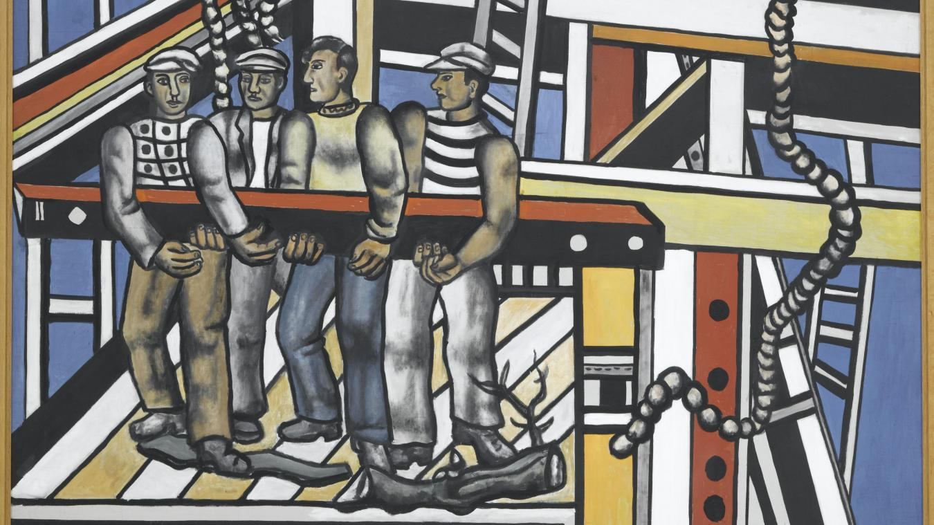Fernand Léger - Les constructeurs