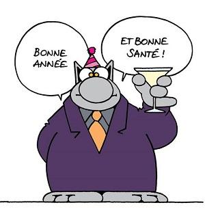 Le Chat - Bonne année