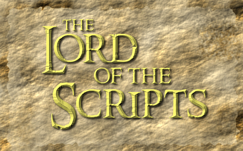 Lord of Scripts