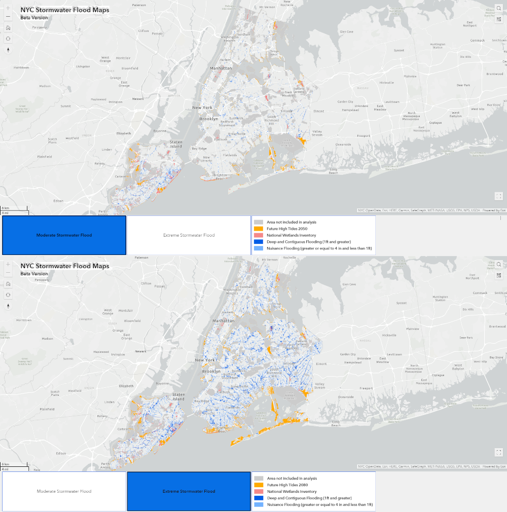 inondations new york