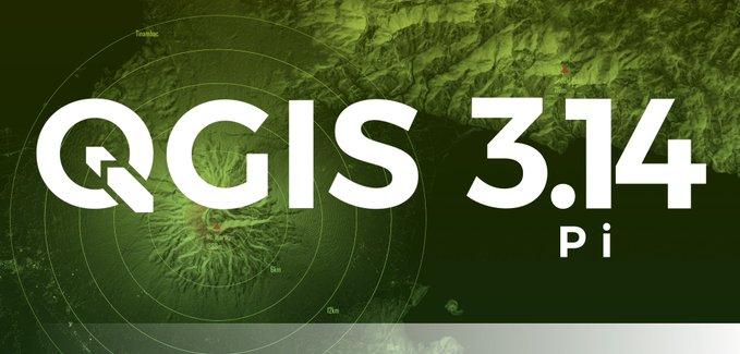 QGIS 3.14 - Splash