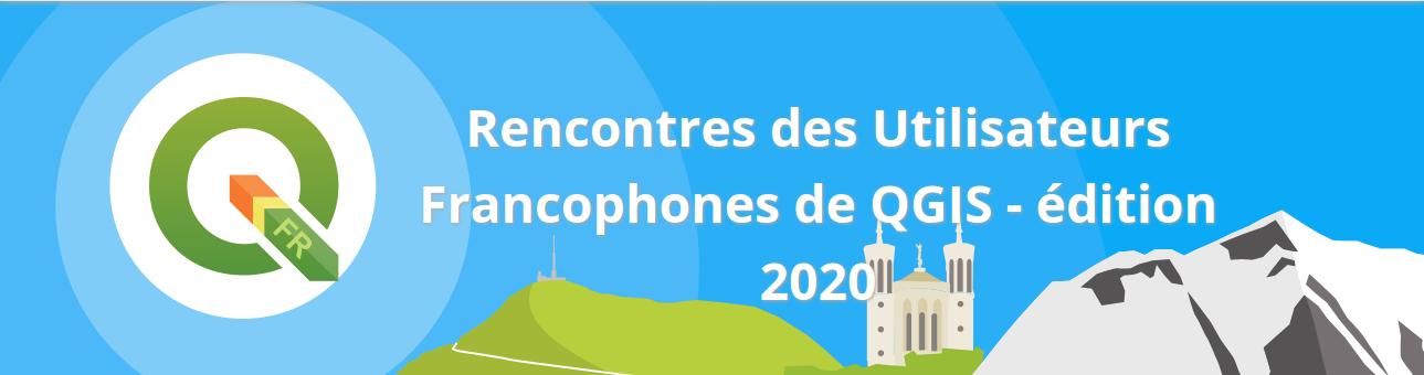 Bannière journées QGIS 2020