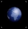 icône globe microworld