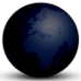 icône globe night