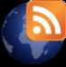 logo globe RSS