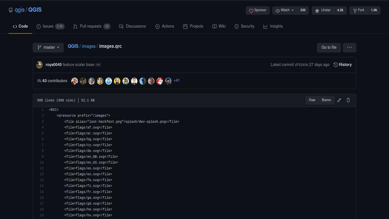 fichier resources.qrc de QGIS
