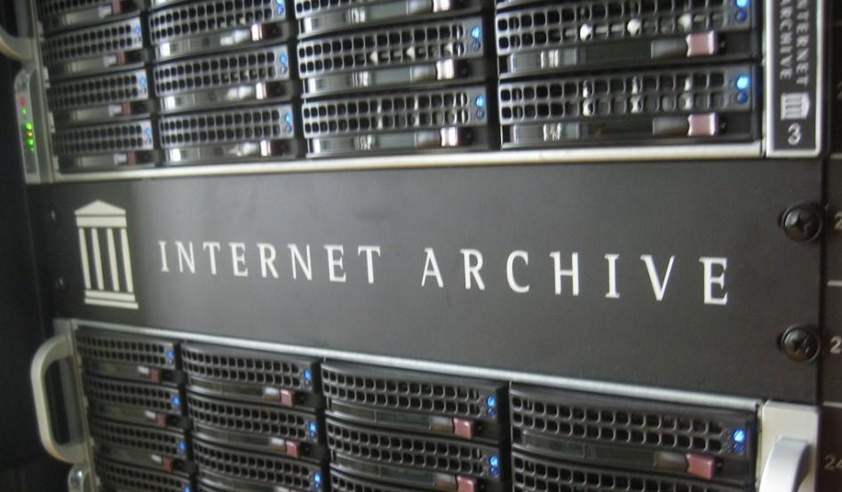 Internet Archive serveurs